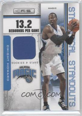 2010-11 Panini Rookies & Stars - Statistical Standouts Materials #11 - Dwight Howard /199