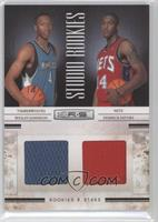 Derrick Favors, Wesley Johnson /399
