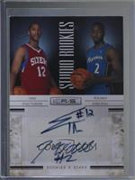 John Wall, Evan Turner [Noted] #/49