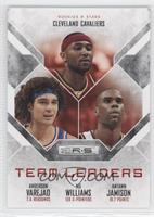 Anderson Varejao, Mo Williams, Antawn Jamison /99