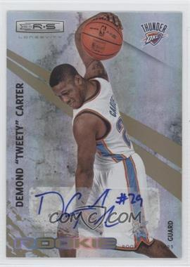 2010-11 Panini Rookies & Stars Longevity - [Base] - Signatures [Autographed] #124 - Tweety Carter /499