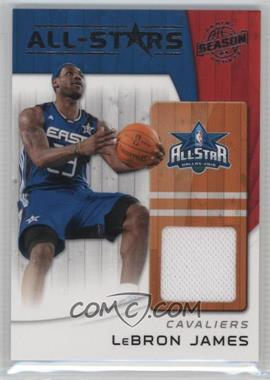 2010-11 Panini Season Update - All-Stars - Materials [Memorabilia] #17 - Lebron James