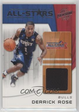 2010-11 Panini Season Update - All-Stars - Materials [Memorabilia] #9 - Derrick Rose