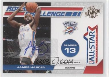 2010-11 Panini Season Update - Rookie Challenge - Signatures [Autographed] #11 - James Harden /49