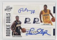 Paul George, Lance Stephenson /99