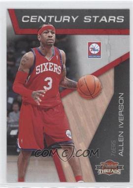 2010-11 Panini Threads - Century Stars #2 - Allen Iverson