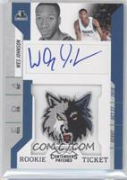 Rookie Ticket Autograph - Wesley Johnson