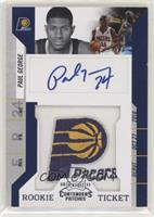 Rookie Ticket Autograph - Paul George [Noted]