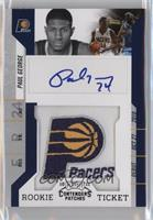 Rookie Ticket Autograph - Paul George