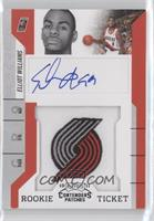 Rookie Ticket Autograph - Elliot Williams