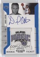 Rookie Ticket Autograph - Daniel Orton
