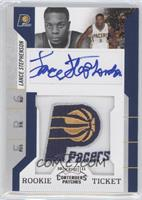 Rookie Ticket Autograph - Lance Stephenson