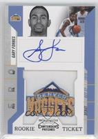 Rookie Ticket Autograph - Gary Forbes