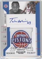 Rookie Ticket Autograph - Terrico White