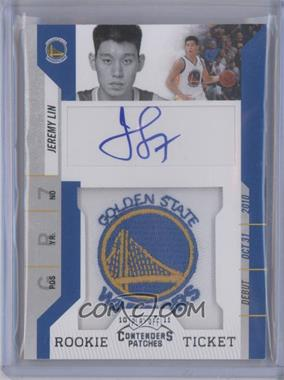 2010-11 Playoff Contenders Patches - [Base] #141 - Rookie Ticket Autograph - Jeremy Lin