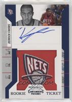 Rookie Ticket Autograph - Derrick Favors