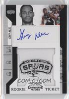 Rookie Ticket Autograph - Gary Neal