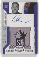 Rookie Ticket Autograph - Hassan Whiteside