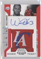 Rookie Ticket Autograph - Willie Warren