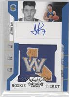 Rookie Ticket Autograph - Jeremy Lin