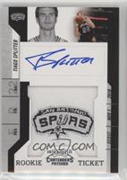 Rookie Ticket Autograph - Tiago Splitter