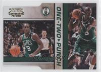 Rajon Rondo, Kevin Garnett /99