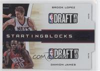 Brook Lopez, Damion James /49