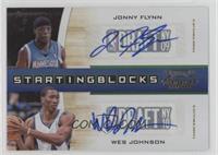 Jonny Flynn, Wesley Johnson /49