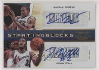 JaVale McGee, John Wall #/49