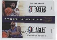Tyreke Evans, DeMarcus Cousins /99
