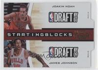 Joakim Noah, James Johnson /99