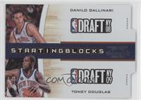Danilo Gallinari, Toney Douglas /299