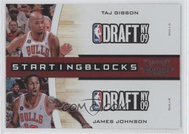 2010-11 Playoff Contenders Patches - Starting Blocks #21 - Taj Gibson, James Johnson