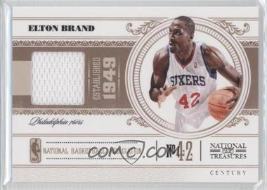 2010-11 Playoff National Treasures - [Base] - Century Materials [Memorabilia] #77 - Elton Brand /99