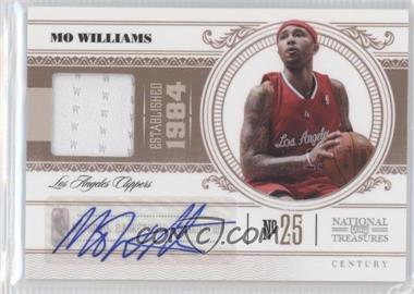 2010-11 Playoff National Treasures - [Base] - Century Materials Signatures [Autographed] [Memorabilia] #41 - Mo Williams /99