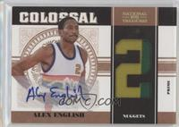 Alex English #/25