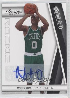 2010-11 Prestige - [Base] - Bonus Shots Black Autographs [Autographed] #169 - Avery Bradley /99