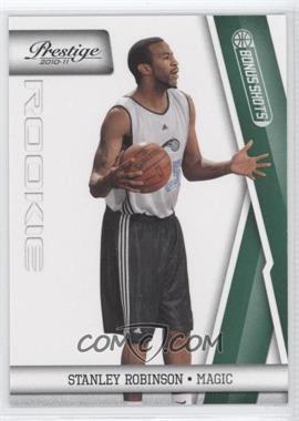 2010-11 Prestige - [Base] - Bonus Shots Green #245 - Stanley Robinson /25