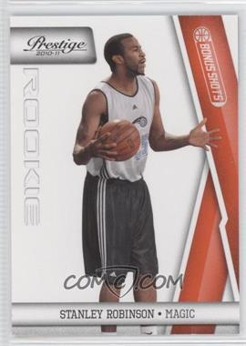 2010-11 Prestige - [Base] - Bonus Shots Orange #209 - Stanley Robinson /499