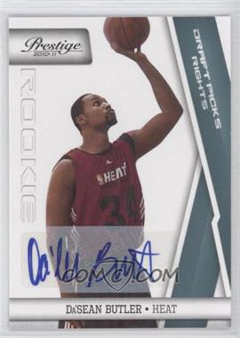 2010-11 Prestige - [Base] - Draft Picks Rights Autographs [Autographed] #192 - Da'Sean Butler /199