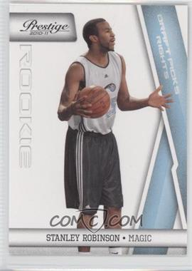 2010-11 Prestige - [Base] - Draft Picks Rights Light Blue #209 - Stanley Robinson /999