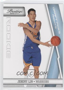 2010-11 Prestige - [Base] - Draft Picks Rights Light Blue #210 - Jeremy Lin /999