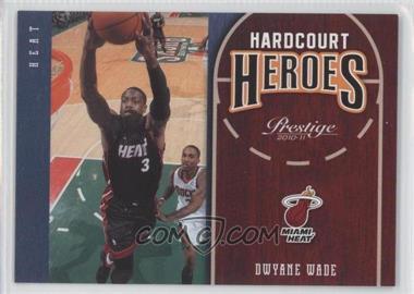 2010-11 Prestige - Hardcourt Heroes #10 - Dwyane Wade