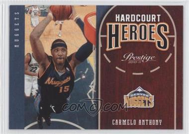 2010-11 Prestige - Hardcourt Heroes #14 - Carmelo Anthony