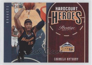 2010-11 Prestige - Hardcourt Heroes #14 - Carmelo Anthony