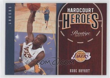 2010-11 Prestige - Hardcourt Heroes #15 - Kobe Bryant
