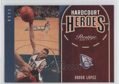2010-11 Prestige - Hardcourt Heroes #20 - Brook Lopez