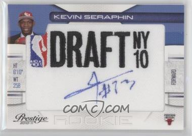 2010-11 Prestige - NBA Draft Class - Draft Logo Patch Autographs [Autographed] #17 - Kevin Seraphin /399