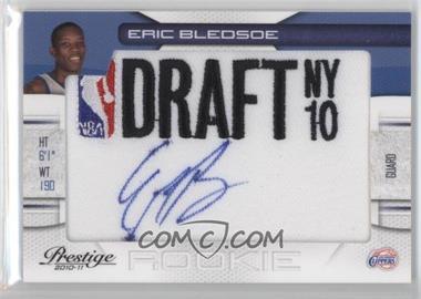 2010-11 Prestige - NBA Draft Class - Draft Logo Patch Autographs [Autographed] #18 - Eric Bledsoe /399