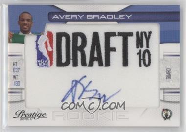 2010-11 Prestige - NBA Draft Class - Draft Logo Patch Autographs [Autographed] #19 - Avery Bradley /396